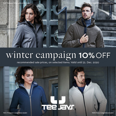 Vestes Tee Jays - Promotion