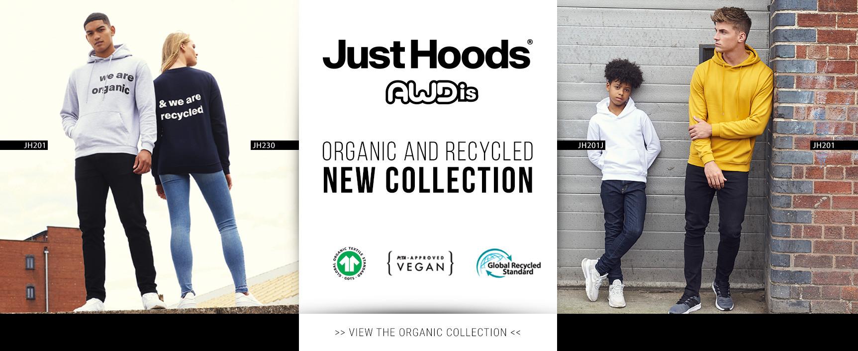 Just Hoods  : collection organique et recyclée