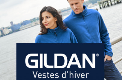 Gildan Softshells & Fleeces promotion