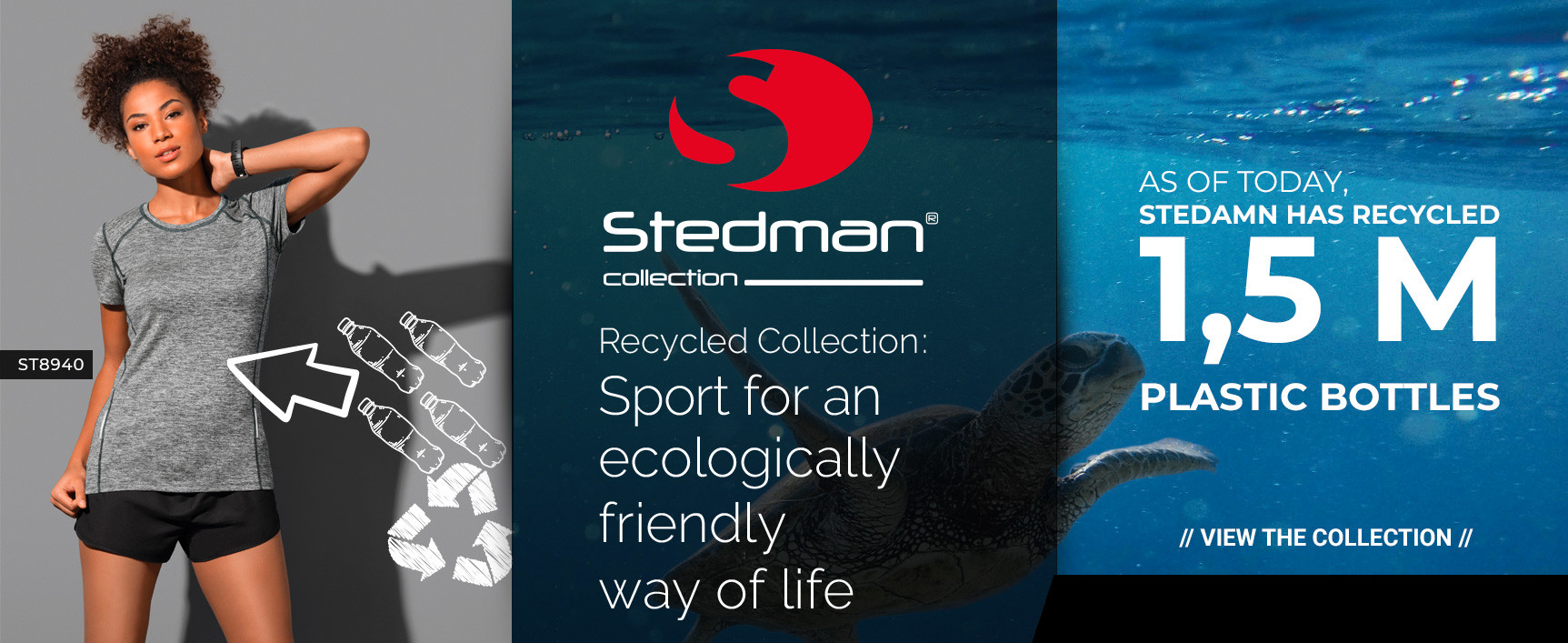 Stedman : Recycled Collection