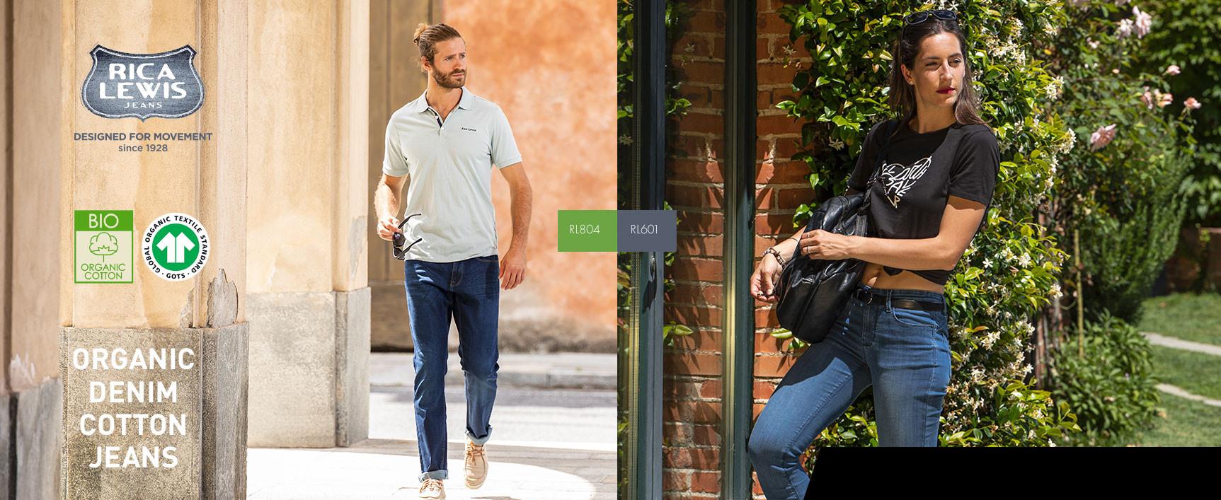 Rica Lewis : Organic Denim Cotton Jeans